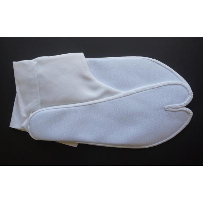 589e75651f9 White Hemp Tabi Socks - 4 clasps