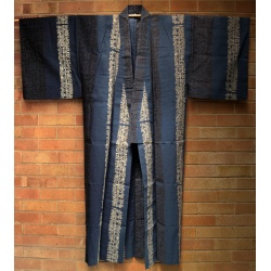 Dark Blue Men's Yukata
