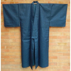 Men's Dark Blue Unlined Kimono - SOLD